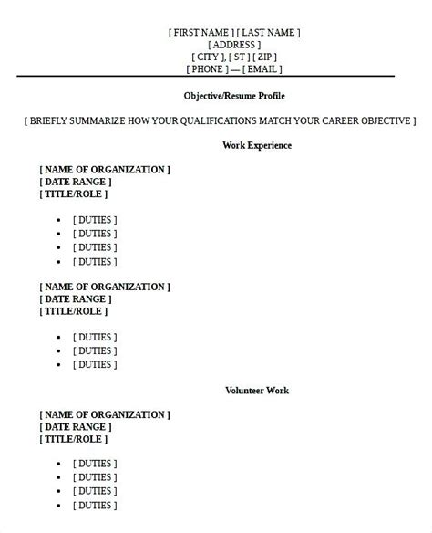 Job Resume Examples For Highschool Students by High Graduate Resume Format Pdf Free Samples