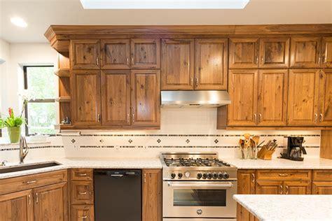 Rustic Walnut Cabinets by Traditional Walnut Kitchen Rustic Kitchen