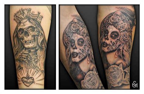 shaun tattoo design chicano day of the dead tattoos shaun