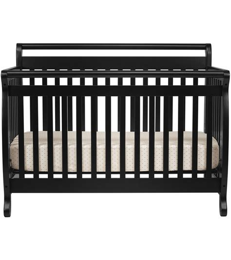 black 4 in 1 convertible crib davinci emily 4 in 1 convertible crib in black