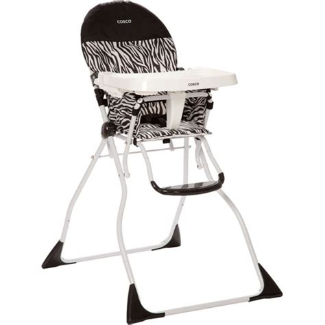 Cosco Folding High Chair by Cosco Flat Fold High Chair Zahari Walmart