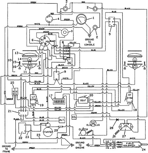 kubota ignition switch wiring diagram wiring diagrams