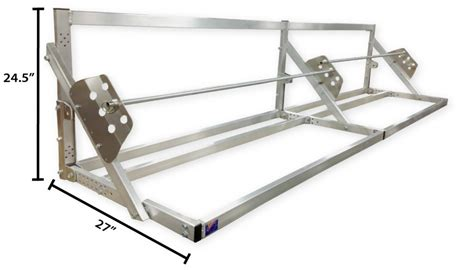 12 ft folding tire rack deluxe pro line trailers accessories