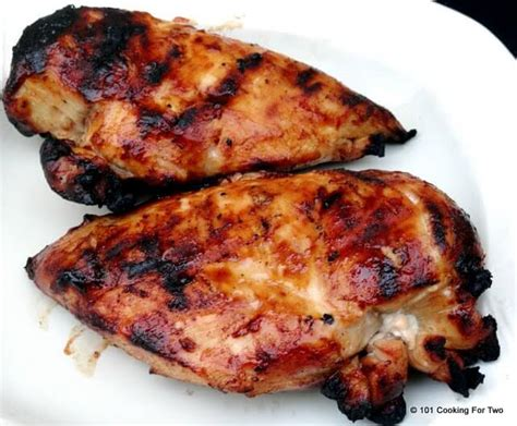 simple grilled bbq skinless boneless chicken breast 101 cooking for two