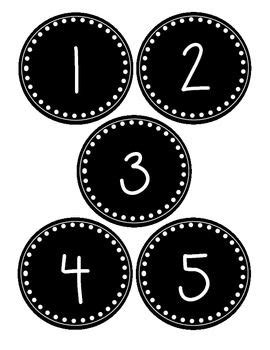 The 25 Best Number Labels Ideas On Pinterest Kindergarten Labels Letter Template For Kids Number Labels Template