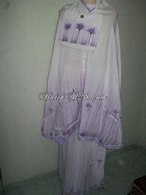 Mukena Motif Ilalang Bunga jual mukena lukis motif bunga ilalang asli mip102