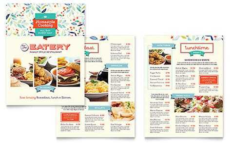microsoft publisher menu template mexican restaurant menu template word publisher