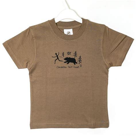Tshirt Fast Food canadian fast food t shirt youth