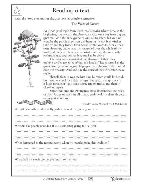printable reading comprehension year 3 free comprehension worksheets year 4 the best and most