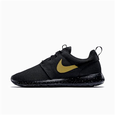 nike roshe run black and gold posicionamientotiendas es