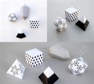 papieren l trend gespot papieren kerstdecoratie om te maken en