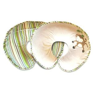 Monkey Boppy Pillow by Boppy Bare Pillow With Blissfully Soft Slipcover