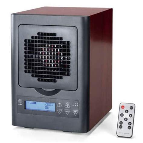 6 stage digital air purifier w remote wood grain