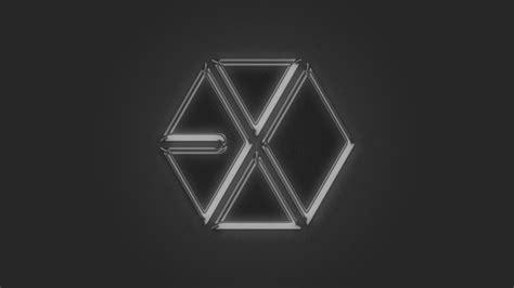 exo wallpaper symbol exo metallic logo by aletscalsone on deviantart