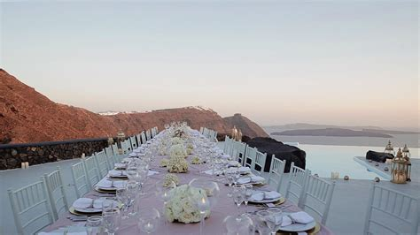 Wedding Greece by Wedding In Santorini F A Venue At Aenaon Villas
