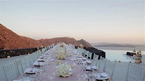 Wedding video in Santorini   F   A   Venue at Aenaon Villas