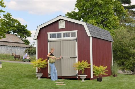 amish wood colonial woodbury barn shed  dutchcrafters
