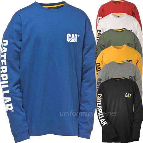caterpillar t shirt cat sleeve graphic logo t