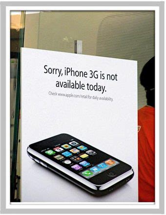 Unmarketing Limited iphone savior sold out iphone unmarketing hits apple stores