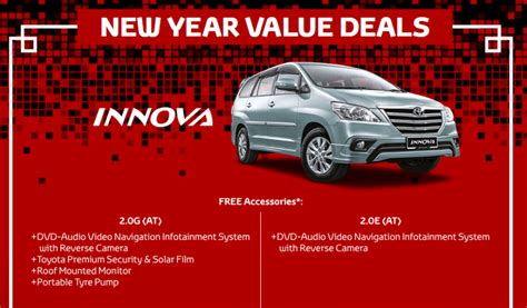 new year packages 2016 toyota wow deals offer rebates and low interest rates