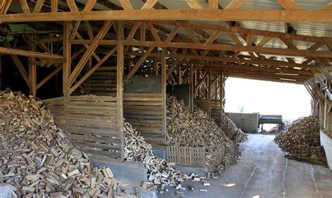 chauffage hangar stockage bois de chauffage sec eco bois alsace