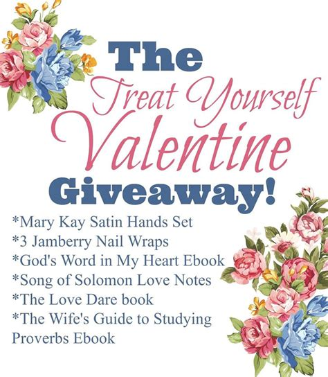 Valentine S Day Giveaway - treat yourself valentine s day giveaway the purposeful mom