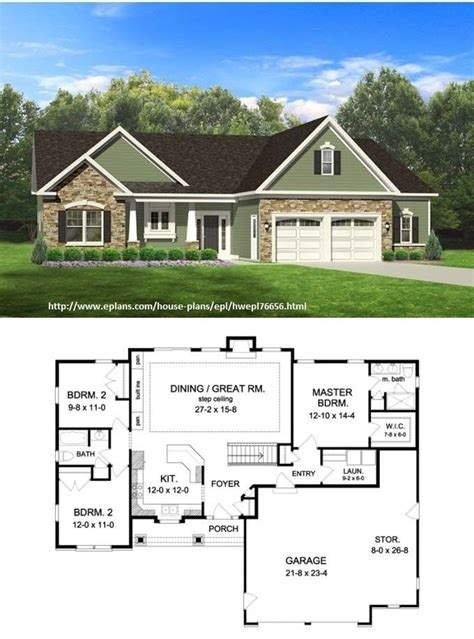 full basement house plans ranch style house plans with full basement new i love this plan the durango model plan features