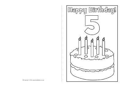 brithday card coloring page template 43 beste afbeeldingen verjaardag kleurplaten op