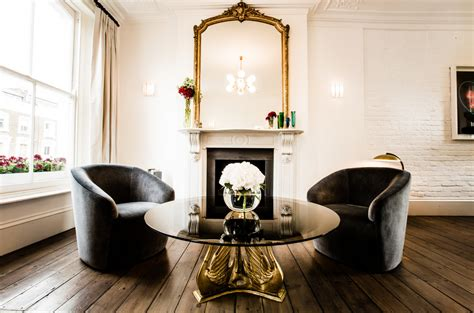 brass table for living room how to decorate a big living room with brass tables