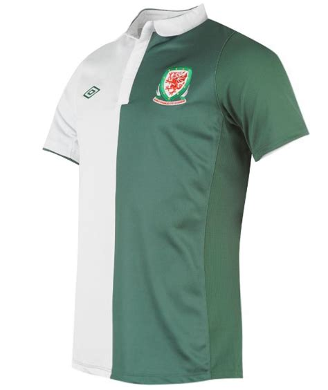 new wales away kit 2012 13 umbro green white away jersey 12 13 football kit news new