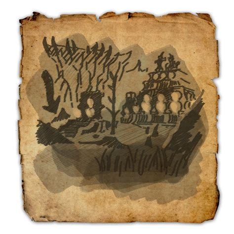 coldharbour ce treasure map coldharbour treasure map i elder scrolls wiki