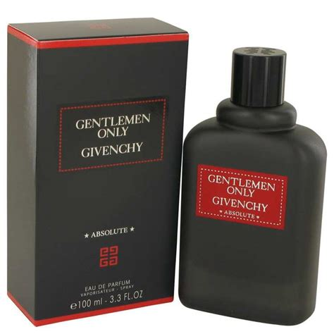 Givenchy Gentlemen Only Absolute For Edp 100ml parfum gentlemen only absolute givenchy eau de parfum