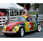 Volkswagon Beetle Clown Car Photograph By James C Thomas