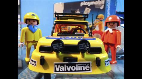Rally Auto Playmobil by Rally Car Tour Playmobil Youtube