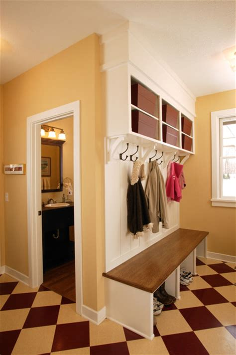 built in bench mudroom spacious mudroom with built in bench craftsman entry