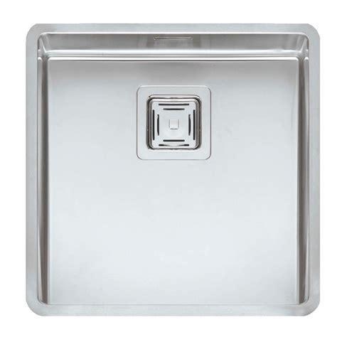 stainless steel kitchen sinks uk reginox texas 40 x 40 stainless steel sink kitchen