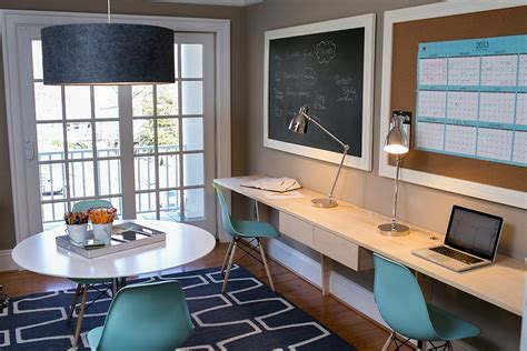 20 Chalkboard Paint Ideas To Transform Your Home Office Home Office Paint Ideas