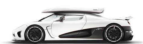 koenigsegg thule koenigsegg with thule lightning hyper roof box on the top