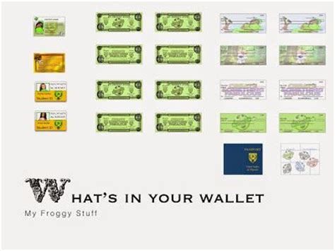 printable board game my froggy stuff my froggy stuff what s in your quot doll quot wallet barbie