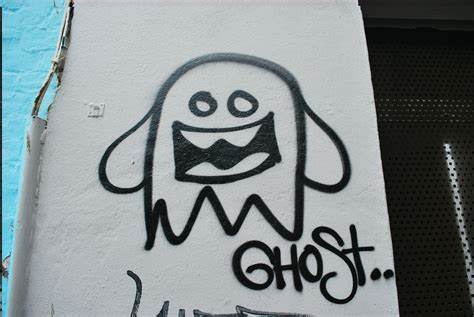 ghost graffiti artist
