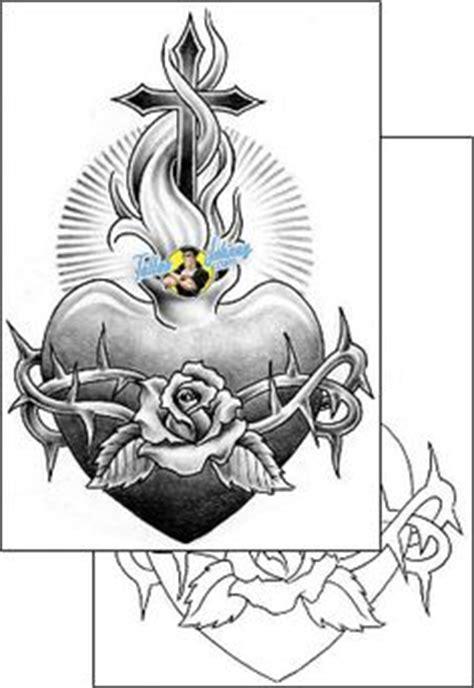 sacred heart tattoo crazy bitch pinte