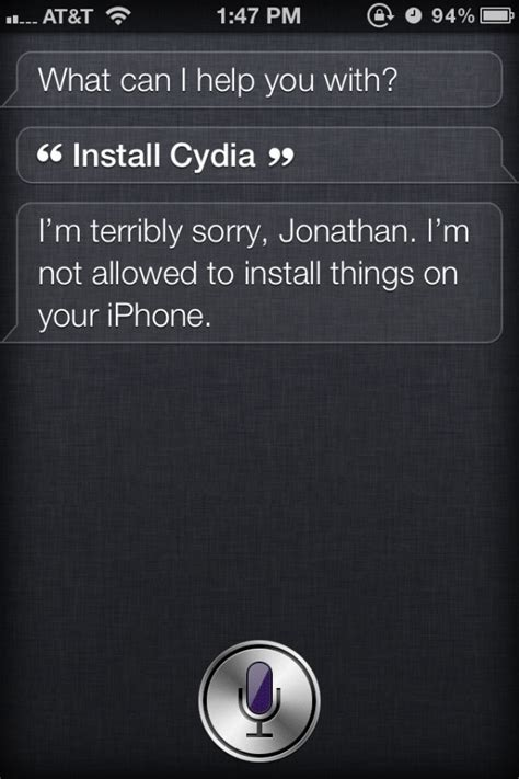 how to install siri on iphone 4 siri install cydia image 1 the tech journal