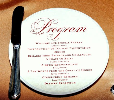 wedding reception program outline choice image wedding decoration