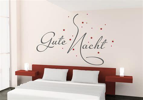 Notte Wohnkultur by Wandtattoo Schlafzimmer Gute Nacht Goetics
