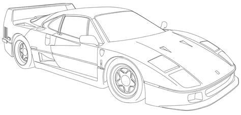 ferrari front drawing lotus cars drawings sh3 me
