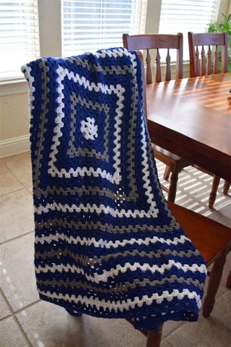 pattern crochet lap blanket crochet granny square lap blanket in dallas cowboys colors