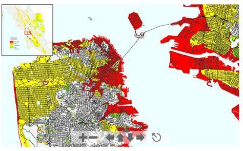 san francisco liquefaction map san francisco liquefaction map