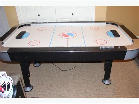 sportcraft turbo hockey table sportcraft turbo hockey air hockey table oak bay