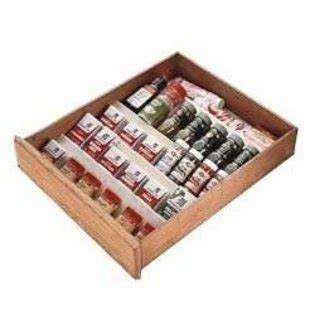 Spice Drawer Insert by 1000 Images About Spice Racks Cabinet Drawer On