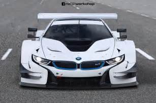 bmw i8 dtm rendering makes us bmw car tuning